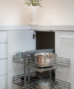 Custom Corner Storage