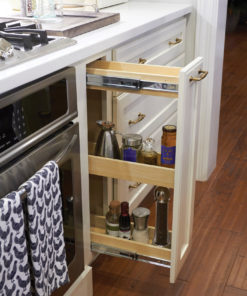 Narrow Pull Out Storage Cabinet