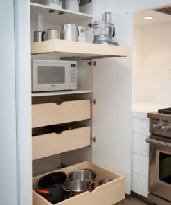Roll Out Shelves - Custom Pantry Configuration
