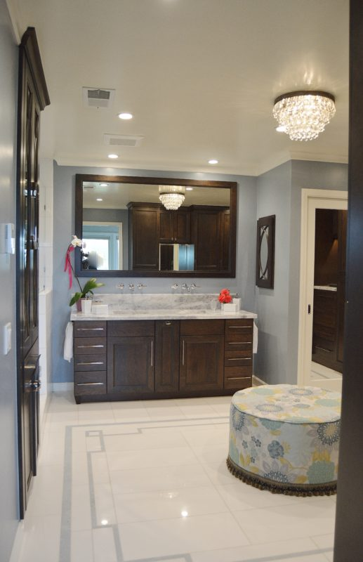 Dark Brown Bathroom Cabinets In Cherry Crystal Cabinets