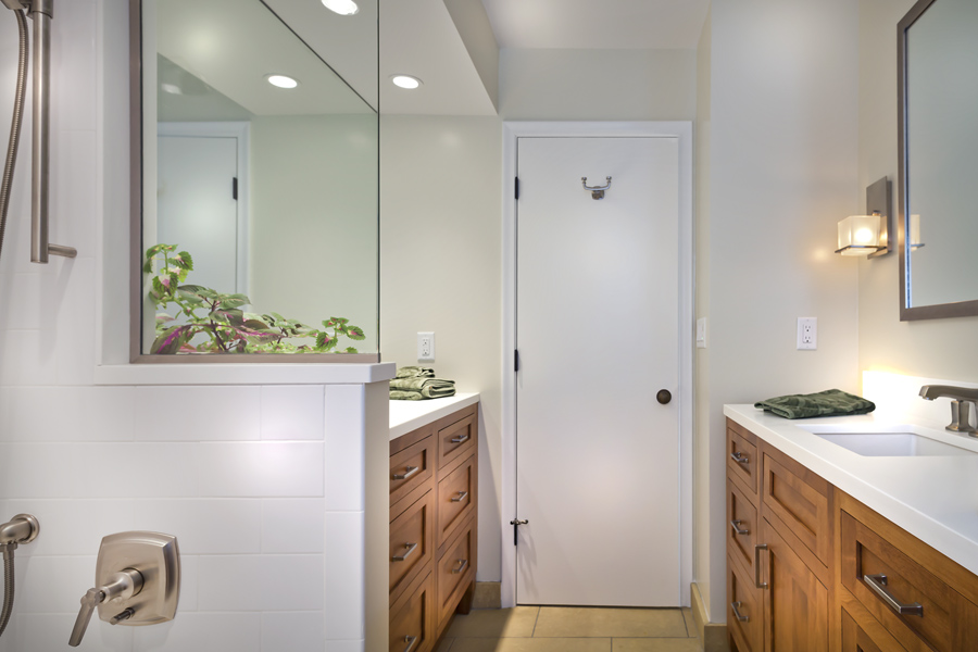 Medium Brown Bathroom Vanities