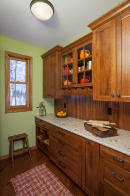 Traditional Custom Cherry Cabinets