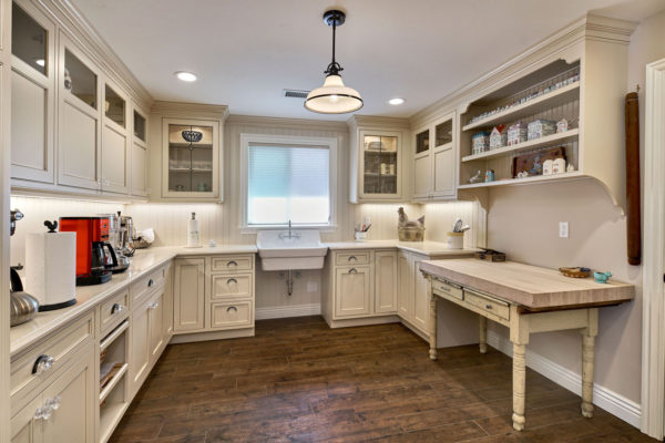 Antique White Custom Cabinets