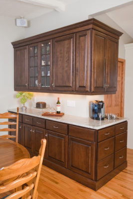 Dining Room Buffet in a Medium Brown Stain