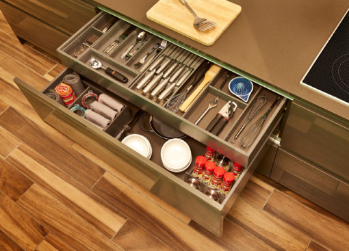 Steel Drawer with Interior Drawer