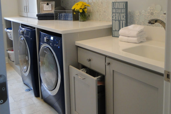 Light Grey Laundry Room