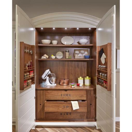 baking storage cabinet