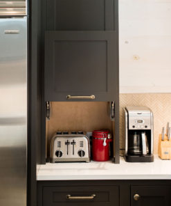 appliance storage cabinet