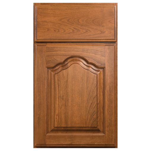 country french arched wood door