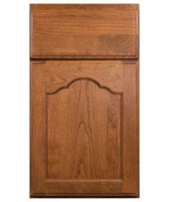 franch villa arched wood door