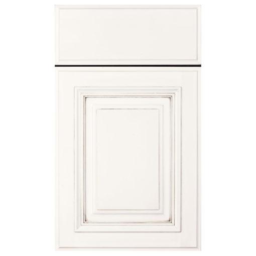 grandview white wood door