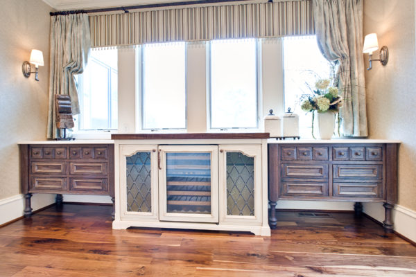 Two-Toned Custom Cabinets