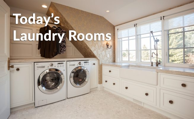 Today's Laundry Rooms
