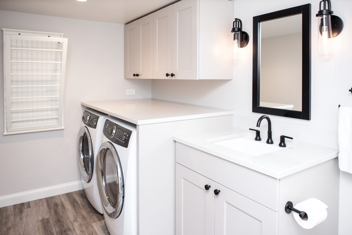 Today S Laundry Rooms Crystal Cabinets