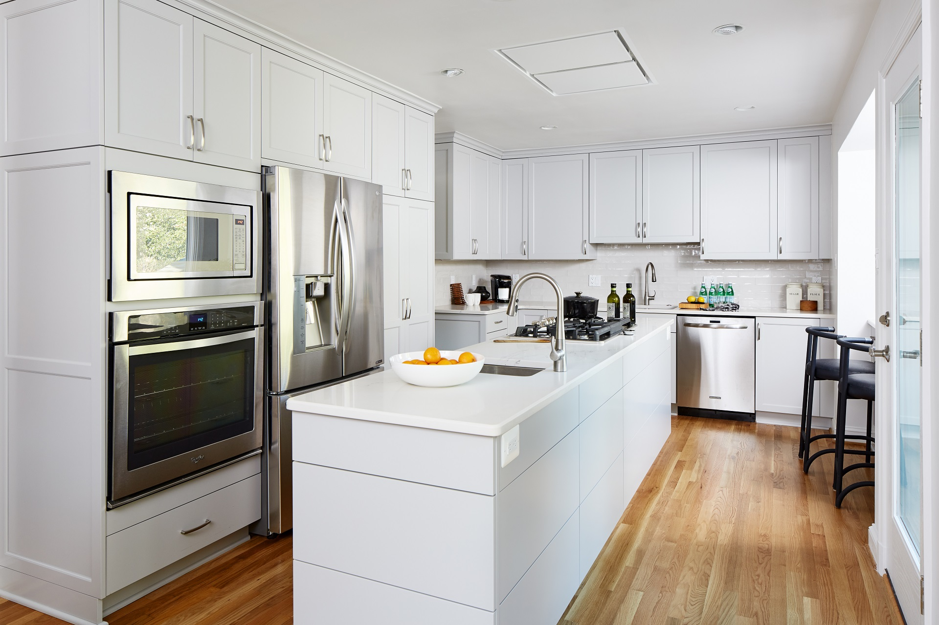 Soft Grey Kitchen Cabinets - Crystal Cabinets