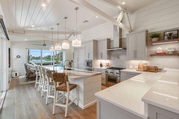 Grey & White Transitional Kitchen