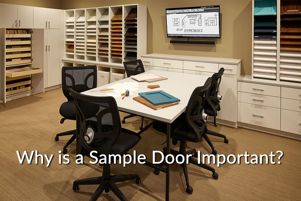 Why is a sample door important